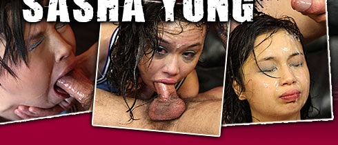 Sasha Young Face Fucked On Facial Abuse